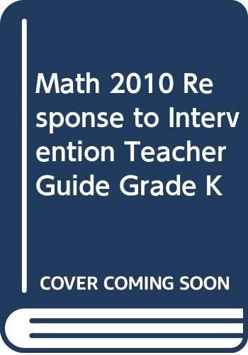 9780328563241: Focus Math: Intensive Intervention, Teacher's Edition, Grade K