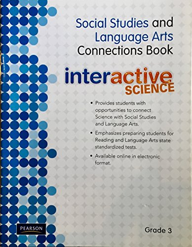 9780328593101: Social Studies and Language Arts Connections Book Interactive Science Grade 3