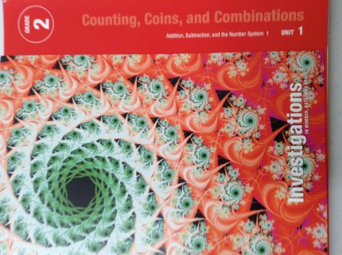 9780328600113: Teacher's guide Investigations in Number,Data and Space Grade 2 Unit 1: Counting, Coins, and Combinations