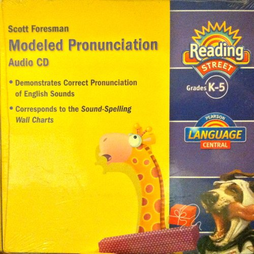 9780328605392: Reading Street, Modeled Pronunciation, Grade K-5