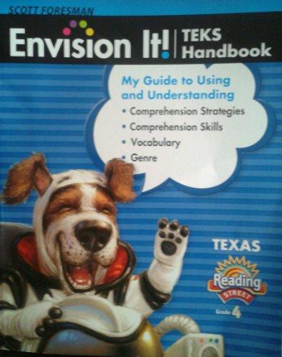 9780328607167: Scott Foresman Envision It! TEKS Handbook Texas Reading Street Grade 4