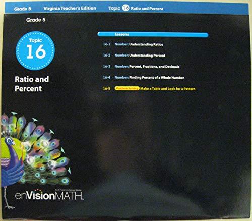 pearson - envision math grade topic ratios - AbeBooks