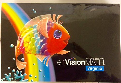 9780328610952: enVision Math Virginia Grade K, Single Student Edition