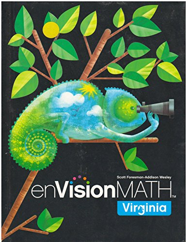 9780328610990: enVision Math, Grade 4, Student Edition, Virginia Edition