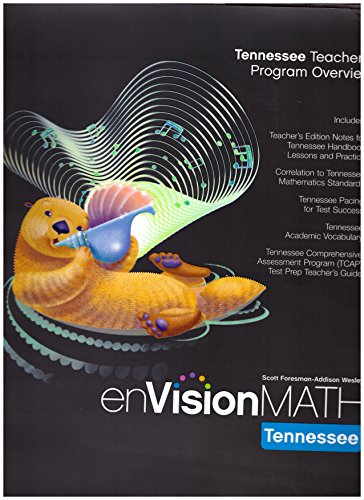 9780328611379: enVision Math- Tennessee Teacher's Program Overview, Grade 3 (Tennessee Edition)