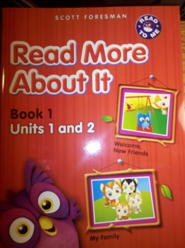 9780328612901: Read More About It Book 1 (Units 1 and 2)