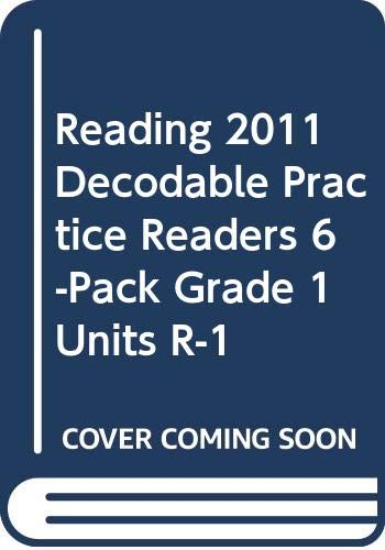 9780328615537: READING 2011 DECODABLE PRACTICE READERS 6-PACK GRADE 1 UNITS R-1