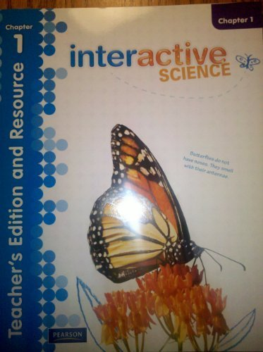 9780328616701: Interactive Science Teacher's Edition and Resource Grade 3 Chapter 1
