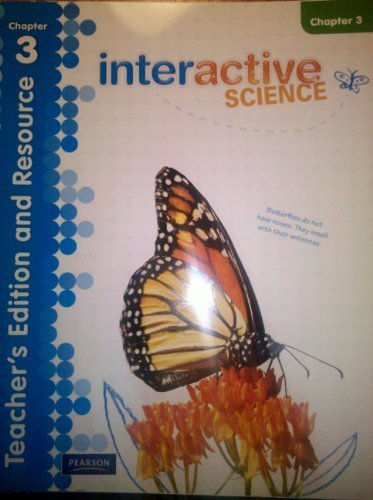 9780328616725: Interactive Science Teacher's Edition and Resource Grade 3 Chapter 3