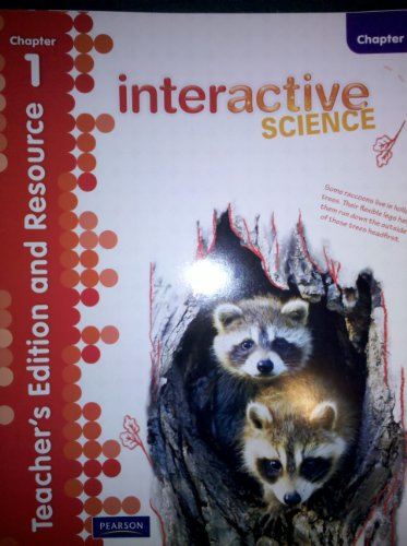 9780328616770: Teacher's Edition and Resource, Chapter 1, Grade 4 (Interactive Science)