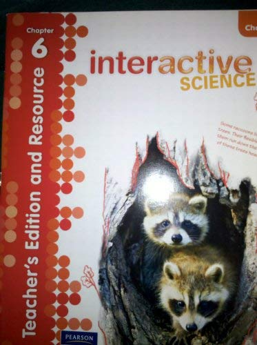 9780328616824: Teacher's Edition and Resource, Chapter 6, Grade 4 (Interactive Science)