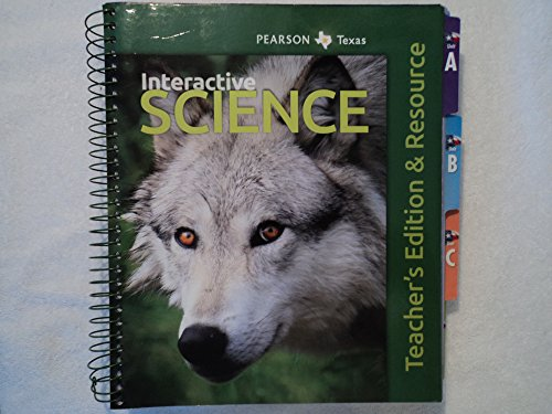 9780328619412: Pearson TX Interactive Science Teacher's Edition & Resource grade 5