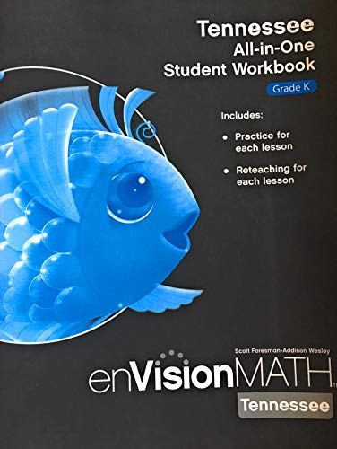 All-In-One Student Workbook enVision Math Tennessee, grade: Scott Foresman-Addison Wesley