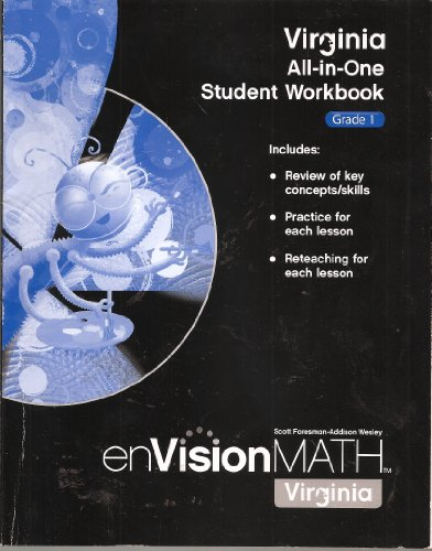 9780328625888: Virginia All-in-One Student Workbook, Grade 1 -- enVisionMATH