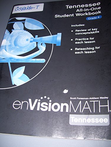 enVision Math Grade 4 Tennessee All-in-One Student Workbook