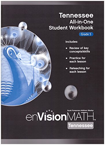 9780328625925: enVision Math- Tennessee All-in-One Student Workbook, Grade 5