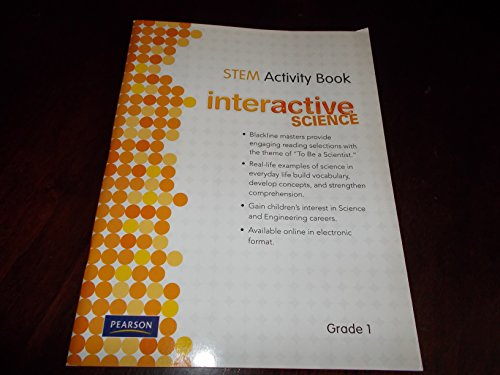 9780328635245: STEM Activity Book Grade 1 Interactive Science