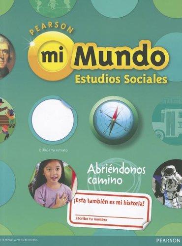 9780328639335: SOCIAL STUDIES 2013 SPANISH STUDENT EDITION (CONSUMABLE) GRADE 1