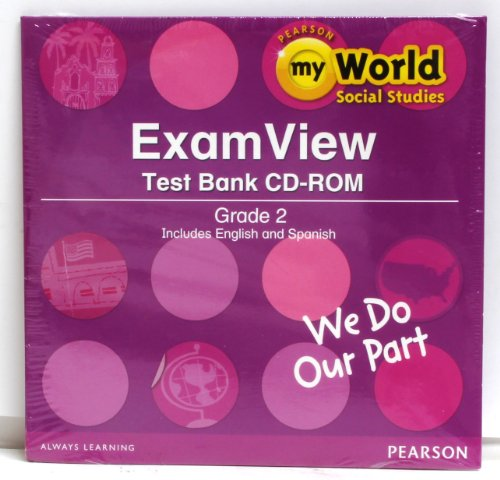 9780328639489: SOCIAL STUDIES 2013 EXAM VIEW CD-ROM GRADE 2