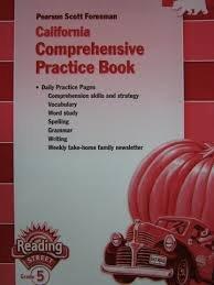 9780328641796: Pearson Scott Foresman California Comprehensive Practice Book Reading Street Grade 5