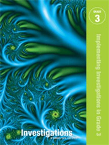 9780328644681: INVESTIGATIONS 2011 STUDENT ACTIVITY BOOK 3 YEAR SUBSCRIPTION GRADE 3 (NATL)