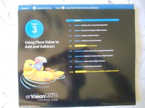 enVisionMATH Common Core/ Topic 3 Using Place: Scott Foresman, Addison