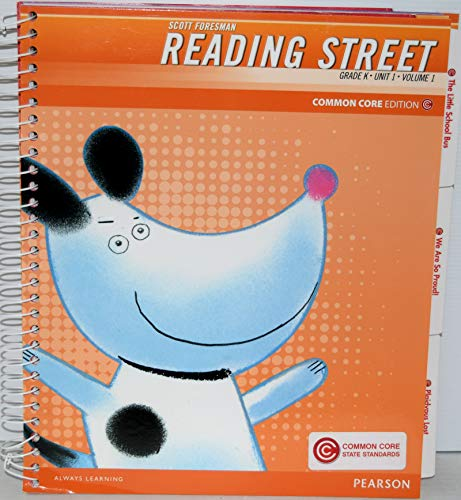 9780328677634: Scott Foresman Reading Street, Grade K, Unit 1, Vol. 1, Teacher's Edition