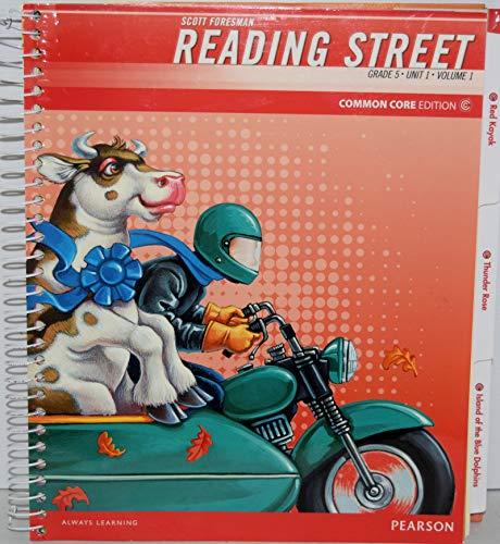 9780328678235: Scott Foresman Reading Street, Teacher's Edition (Grade 5, Unit 1, Vol. 1)