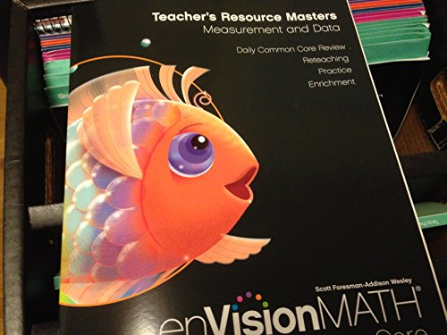 9780328679096: Envision Math Common Core Grade K Teacher's Edition and Resource Package