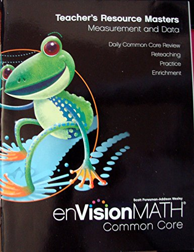 9780328687817: Envision Math Teacher's Resource Masters, Measurement and Data, Grade 2