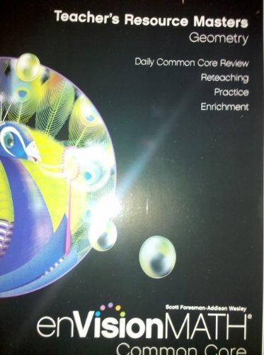 9780328687947: EnVisionMATH Common Core Teacher's Resource Masters (Grade 5): Geometry