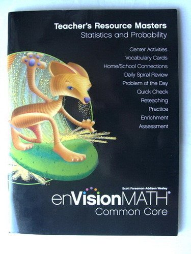 9780328688036: Envision Math Teacher's Resource Masters, Statistics and Probability