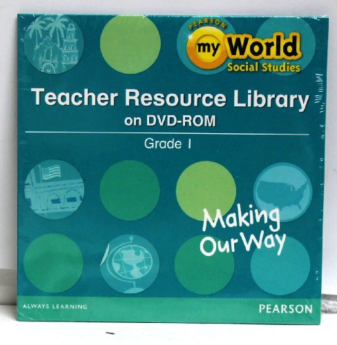 SOCIAL STUDIES 2013 TEACHER RESOURCE LIBRARY DVD GRADE 1: Scott Foresman
