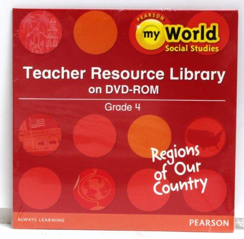 SOCIAL STUDIES 2013 TEACHER RESOURCE LIBRARY DVD GRADE 4 REGION: Scott Foresman