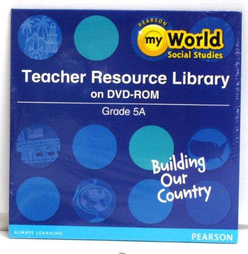 9780328697144: SOCIAL STUDIES 2013 TEACHER RESOURCE LIBRARY DVD GRADE 5A