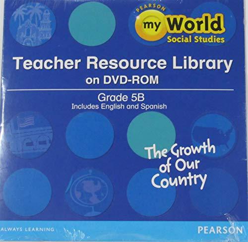 9780328697151: SOCIAL STUDIES 2013 TEACHER RESOURCE LIBRARY DVD GRADE 5B
