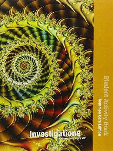9780328697557: INVESTIGATIONS 2012 COMMON CORE STUDENT ACTIVITY BOOK SINGLE VOLUME ED GRADE 4