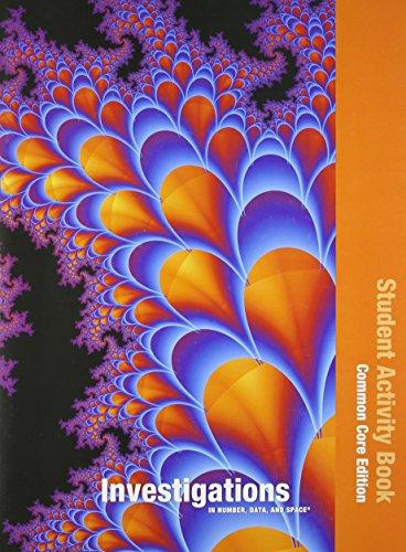 9780328697564: INVESTIGATIONS 2012 COMMON CORE STUDENT ACTIVITY BOOK SINGLE VOLUME ED GRADE 5