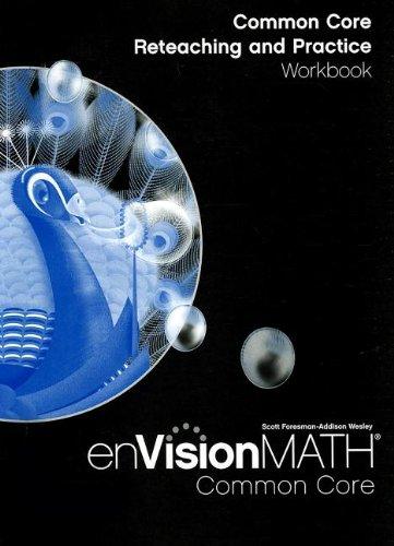 9780328697625: MATH 2012 COMMON CORE RETEACHING AND PRACTICE WORKBOOK GRADE 5