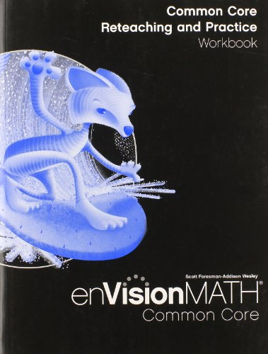 9780328697816: Envision Math: Common Core Reteaching and Practice Workbook, Grade 6