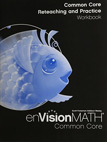 9780328697830: MATH 2012 COMMON CORE RETEACHING AND PRACTICE WORKBOOK GRADE K