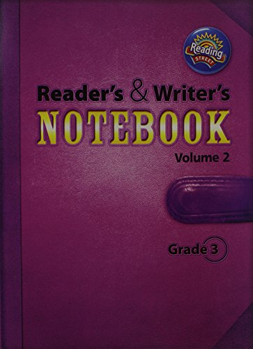 9780328700899: Reading 2011 International Edition Readers and Writers Notebook Grade 3 Volume 2