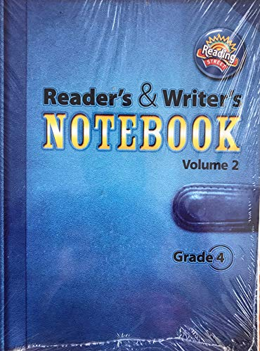 9780328700912: Reading 2011 International Edition Readers and Writers Notebook Grade 4 Volume 2