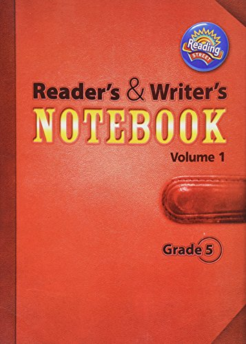 9780328700929: Reading 2011 International Edition Readers and Writers Notebook Grade 5 Volume 1