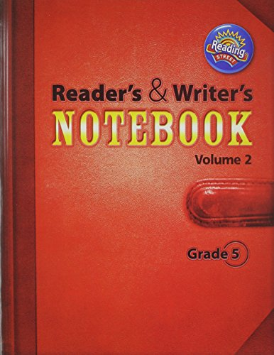 9780328700936: READING 2011 INTERNATIONAL EDITION READERS AND WRITERS NOTEBOOK GRADE 5 VOLUME 2