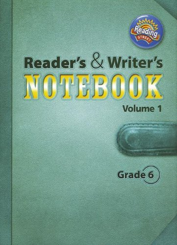 9780328700943: READING 2011 INTERNATIONAL EDITION READERS AND WRITERS NOTEBOOK GRADE 6 VOLUME 1