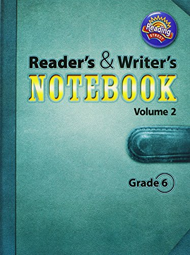 9780328700950: Reading Street, Grade 6: Reader's and Writer's Notebook