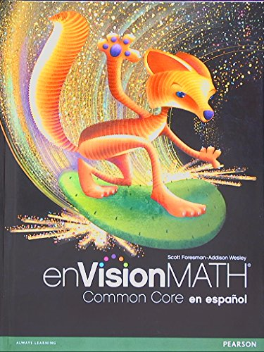 9780328701445: Pearson, Always Learning. enVision Math Common Core en Español (Spanish). Grade 6. 9780328701445, 0328701440.