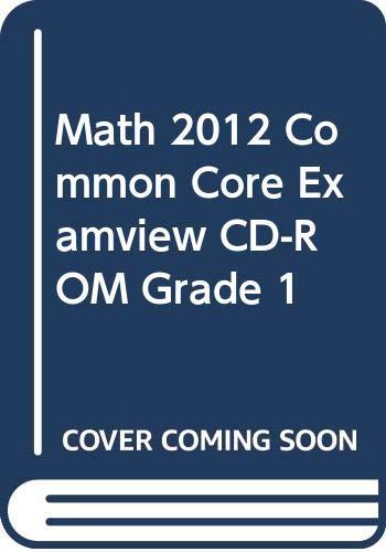 9780328702640: Envision Math 2012, Common Core Exam-View, Grade 1