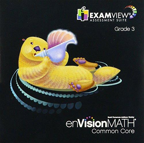 EnVisionMath Common Core, Examview Assessment Suite, Grade 3: Scott Foresman